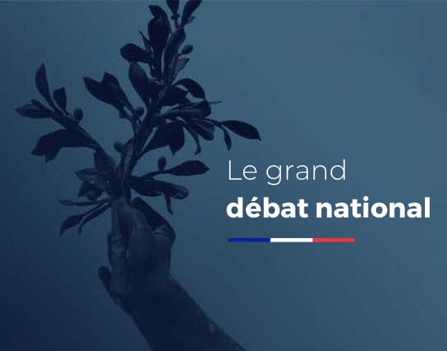 le Grand Débat National Lien vers: http://www.pacte-civique.org/?LeGranddebat
