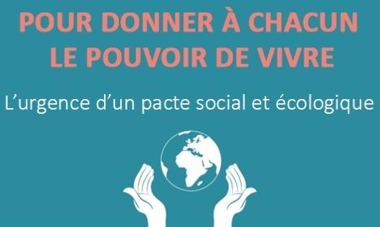 le pacte social et écologique Lien vers: http://www.pacte-civique.org/?LepacteSocialetecologique